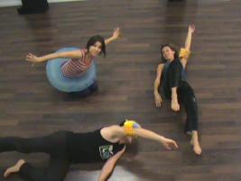 """Domingo Ferrandis. Danza refrescante"""" baile para aliviar los calores. Con Domingo Ferrandis, Ana Extremiana y Vicky"""