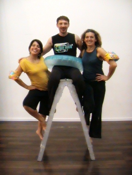 para aliviar los calores. Con Domingo Ferrandis, Ana Extremiana, Débora Louida