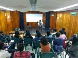 DOMINGO FERRANDIS MASTER CLASS UNAM ARTE DRAMATICO 2